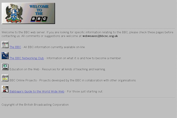 The BBC Networking Club in 1994