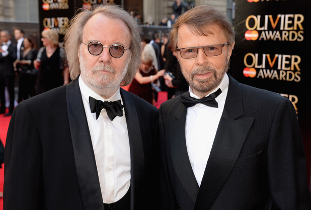 Benny Andersson and  Bjorn Ulvaeus