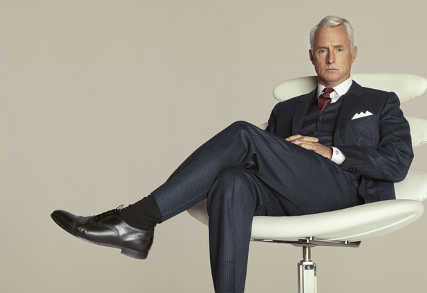 John Slattery as Roger Sterling in Mad Men