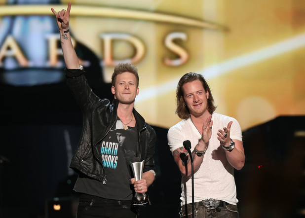 Florida Georgia Line at the 49th Annual Academy Of Country Music Awards (ACM Awards 2014)