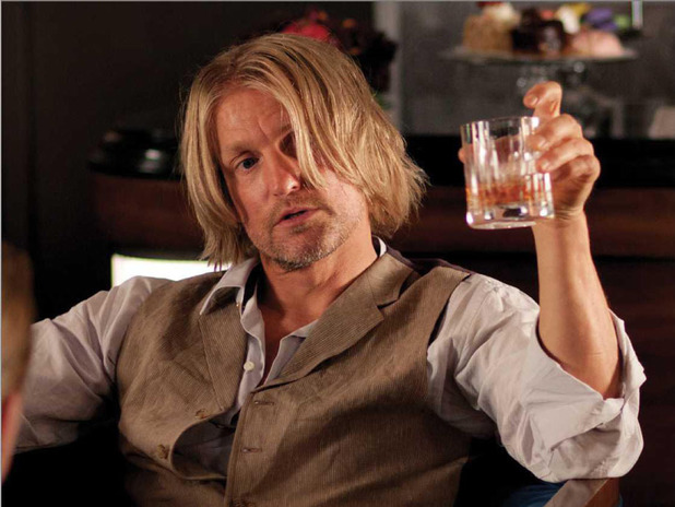 Haymitch in 'The Hunger Games'