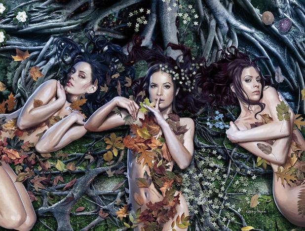 The Charmed season 10 comic book teaser artwork