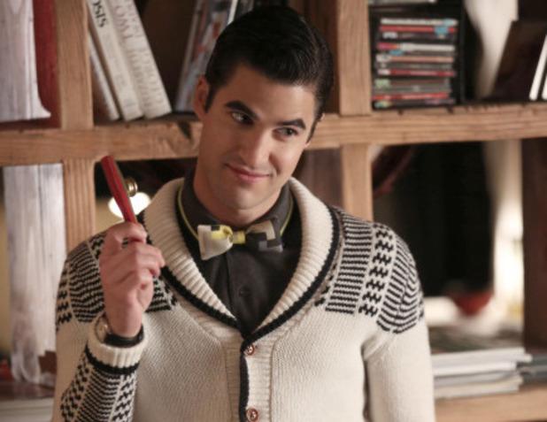 Darren Criss as Blaine in Glee S05E15: 'Bash'