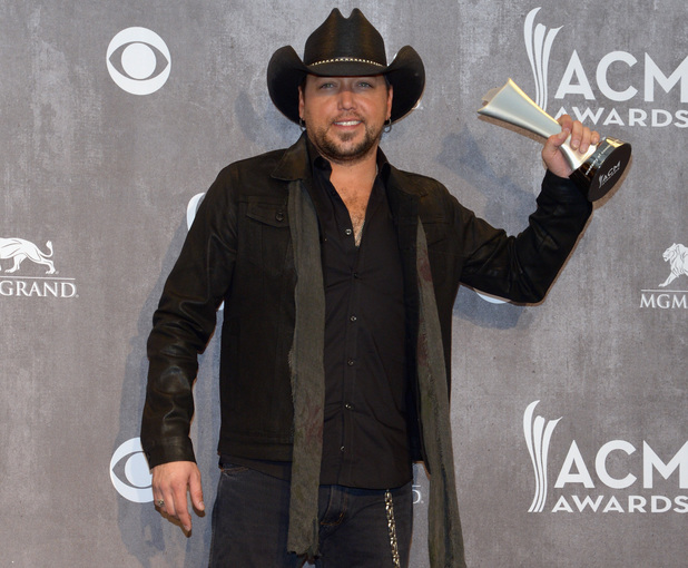 Jason Aldean at the 49th Annual Academy Of Country Music Awards (ACM Awards 2014)