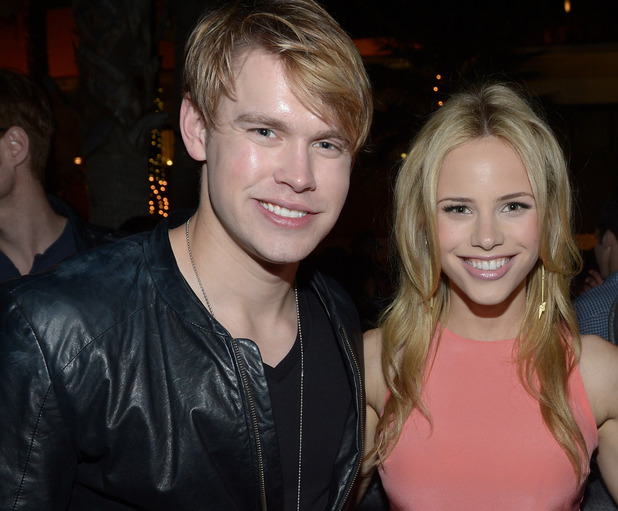 Chord Overstreet, Halston Sage and James Maslow