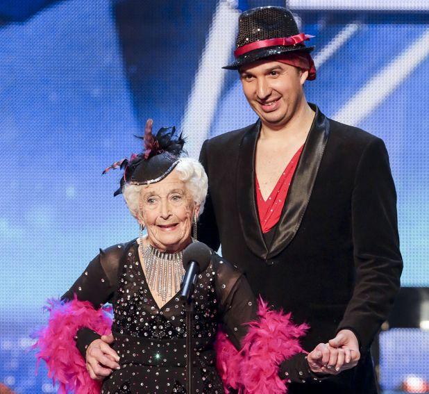 Paddy and Nico on Britain's Got Talent