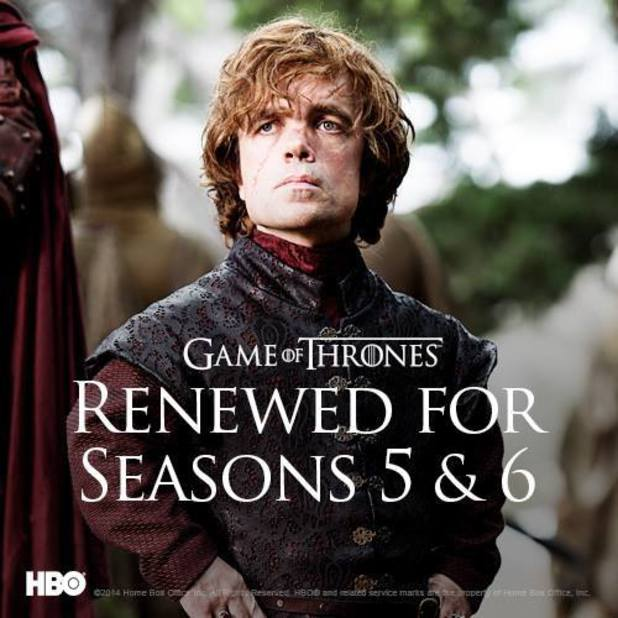 Game of Thrones renewal poster