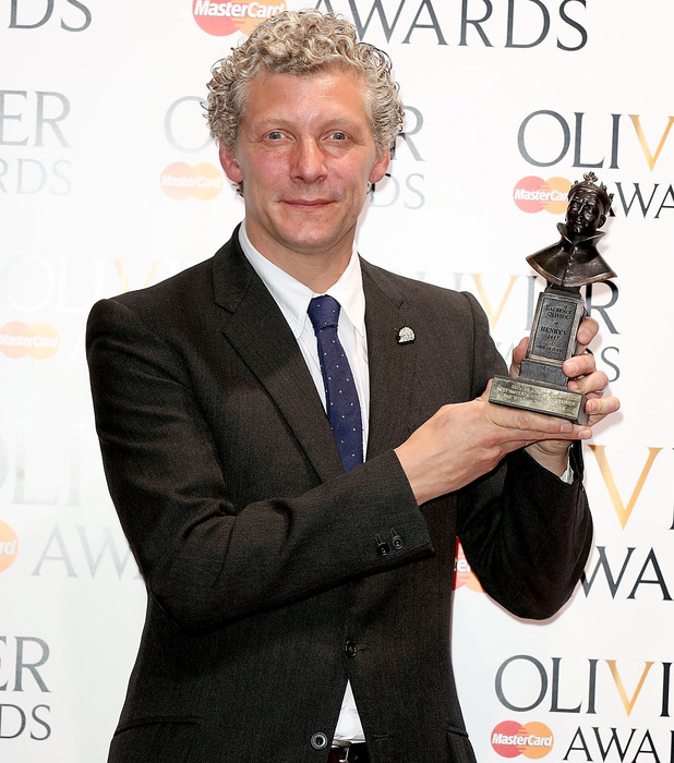 Will Tuckett, winner of the Best Entertainment & Family award for 'The Wind In The Willows'