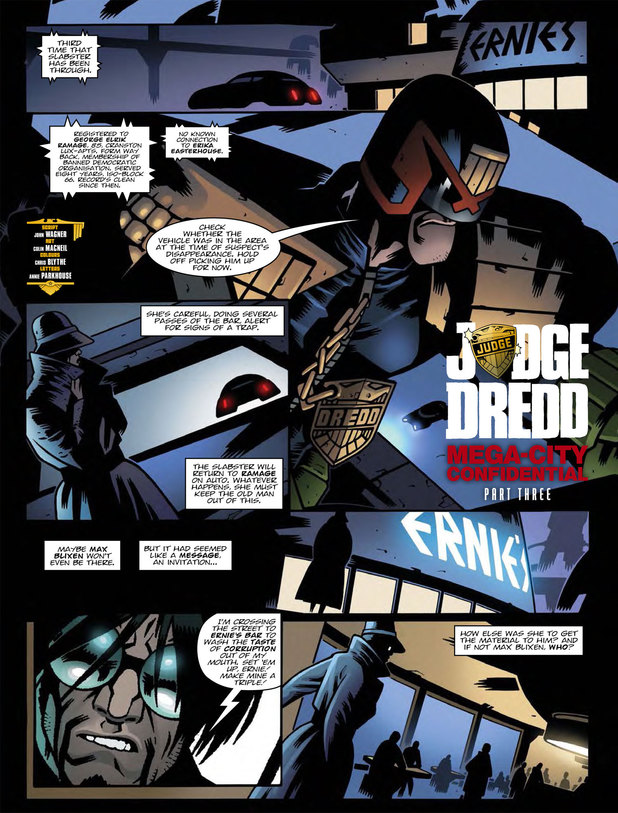Judge Dredd - Mega-City Confidential