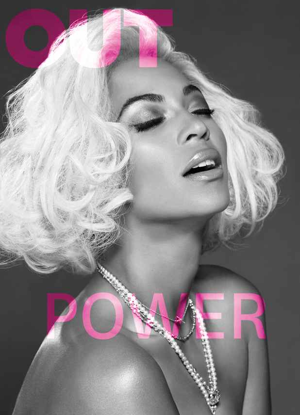 Beyoncé poses as topless Marilyn Monroe