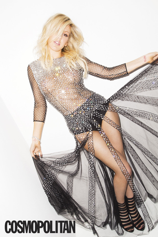 Ellie Goulding photoshoot for Cosmopolitan magazine