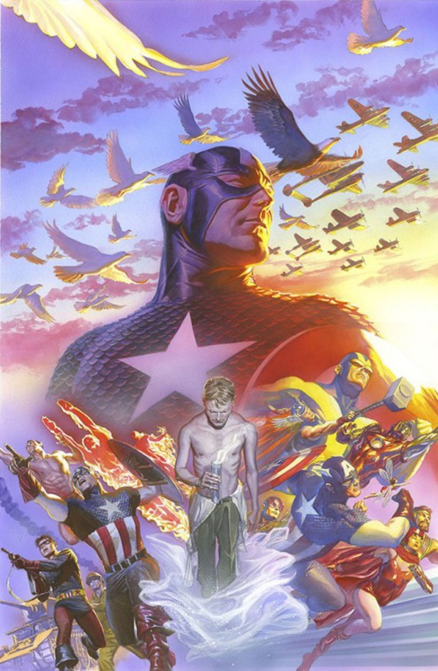 Captain America: Alex Ross Marvel 75 variant cover