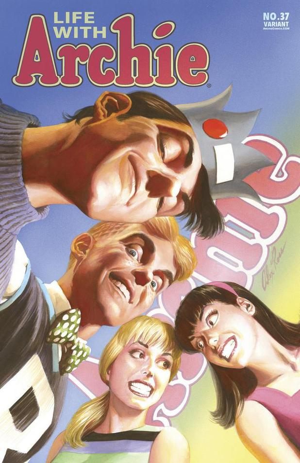 Alex Ross's Life with Archie #37 cover