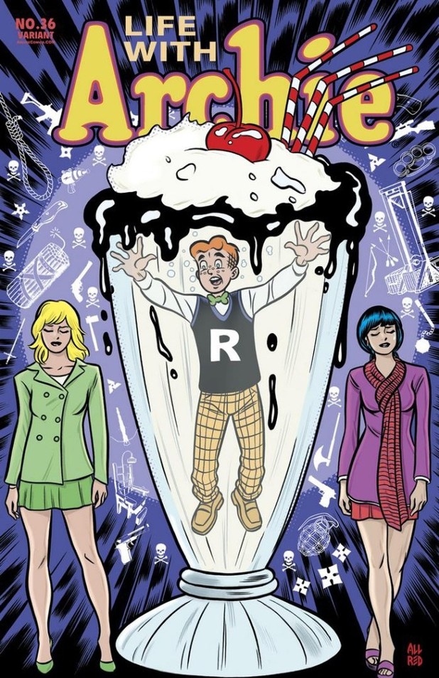 Mike Allred's Life with Archie #36 cover