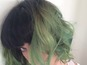 See Katy Perry's new slime-green hair