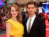 Caption:LONDON, ENGLAND - APRIL 10: Emma Stone and Andrew Garfield attend the world premiere of 'The Amazing Spider-Man 2' at The Odeon Leicester Square on April 10, 2014 in London, England. (Photo by Dave J Hogan/Getty Images)