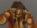 "Blizzard developers update the male Tauren to appear ""beefier""."