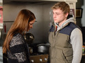 Peter Beale grows close to Lauren Branning in the wake of Lucy's death.