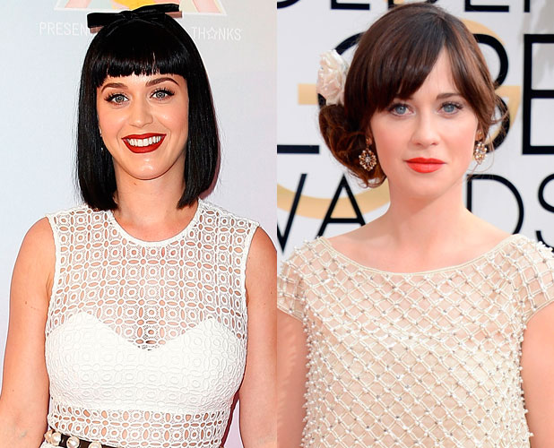 Zooey Deschanel, Katy Perry