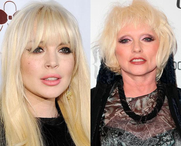 Lindsay Lohan, Debbie Harry