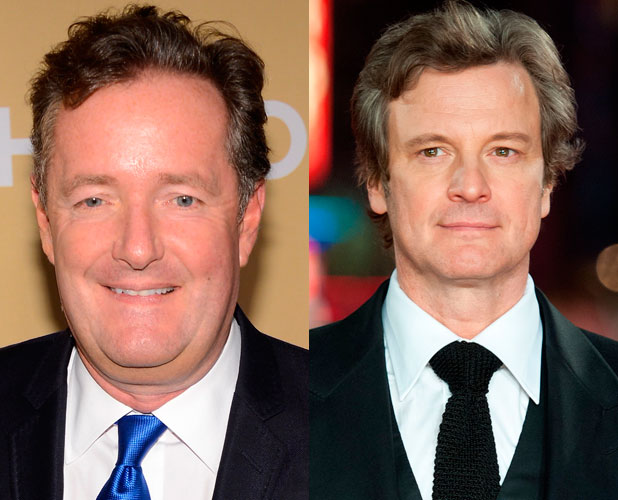 Piers Morgan, Colin Firth