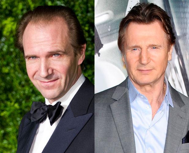 Ralph Fiennes, Liam Neeson