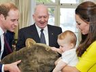 Prince George given giant cuddly wombat as Duke, Duchess tour continues