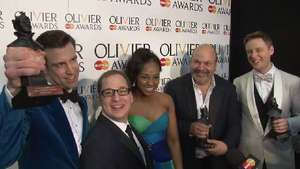 'The Book of Mormon' wins big at the Olivier Awards, taking home Best New Musical, Best Actor in a Musical and Best Supportin Role in a Musical.