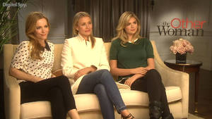 Cameron Diaz, Leslie Mann, Kate Upton 'The Other Woman' interview