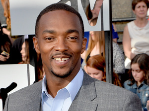 Anthony Mackie arrives for the MTV Movie Awards 2014