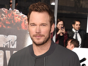 Chris Pratt arrives for the MTV Movie Awards 2014