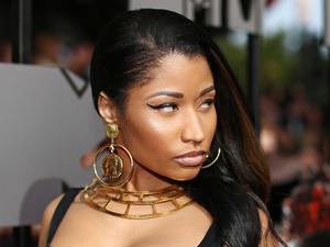 Nicki Minaj arrives for the MTV Movie Awards 2014