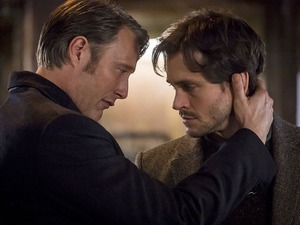 Will Graham and Hannibal Lecter in Hannibal season two