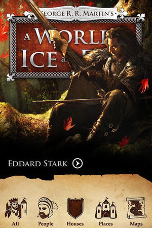 George RR Martin's A World of Ice and Fire app for iOS