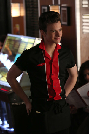 Chris Colfer as Kurt in Glee S05E15: 'Tested'