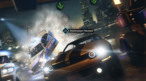 A steampipe hack in Watch Dogs