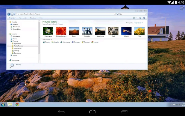 Google's Chrome Remote Desktop for Android