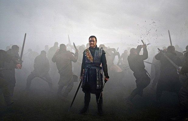 Michael Fassbender stars as Macbeth