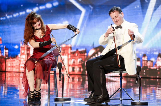 Britain's Got Talent act Saws Crossed