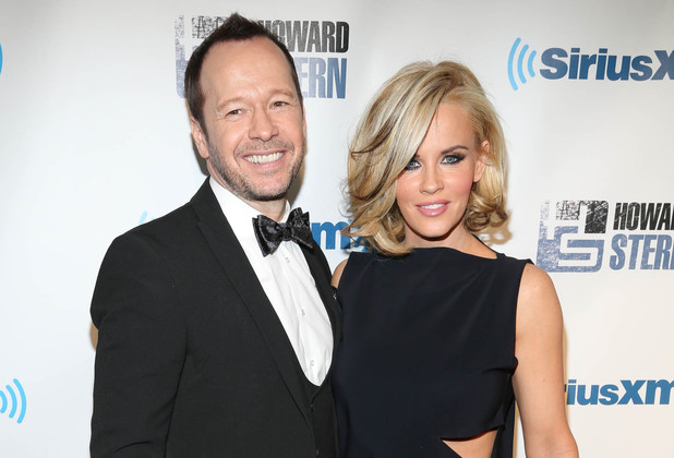 Donnie Wahlberg and Jenny McCarthy attend SiriusXM's 'Howard Stern Birthday Bash'