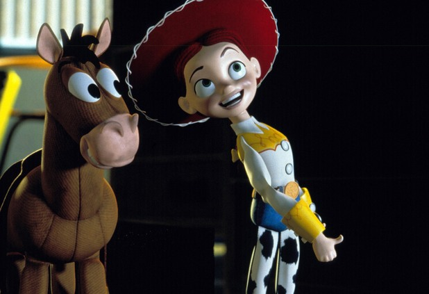 Film and Television Toy Story 2 , Bullseye (Character) Jessie (Character) 1999