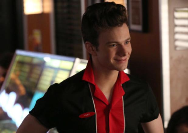 Chris Colfer as Kurt in Glee S05E15: 'Tested'