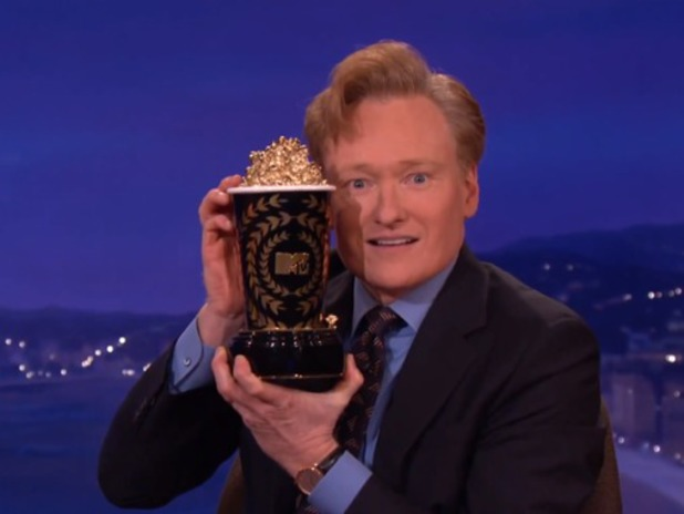 Conan O'Brien hosts 2014 MTV Movie Awards
