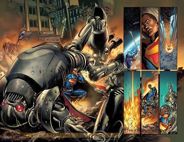 Ivan Reis and Joe Prado's Multiversity #1 artwork