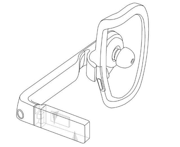 Patent filing for Samsung's Google Glass rival