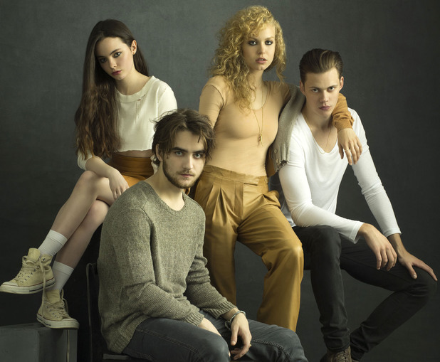 The cast of Netflix's Hemlock Grove