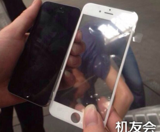 Purported leaked image of the iPhone 6