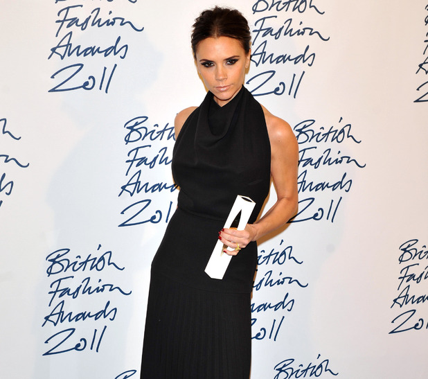 Victoria Beckham at British Fashion Awards 2011