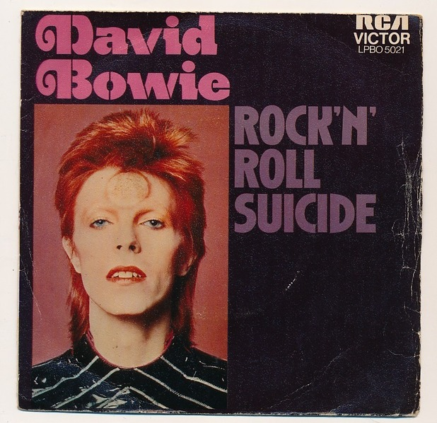 David Bowie - Rock N' Roll Suicide CD cover