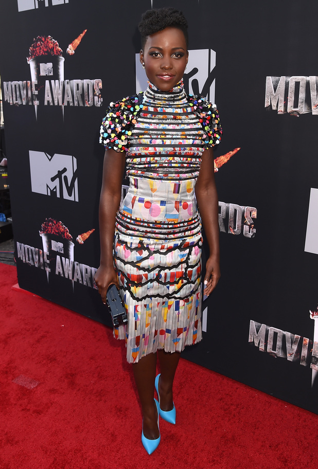 MTV Movie Awards 2014 - red carpet